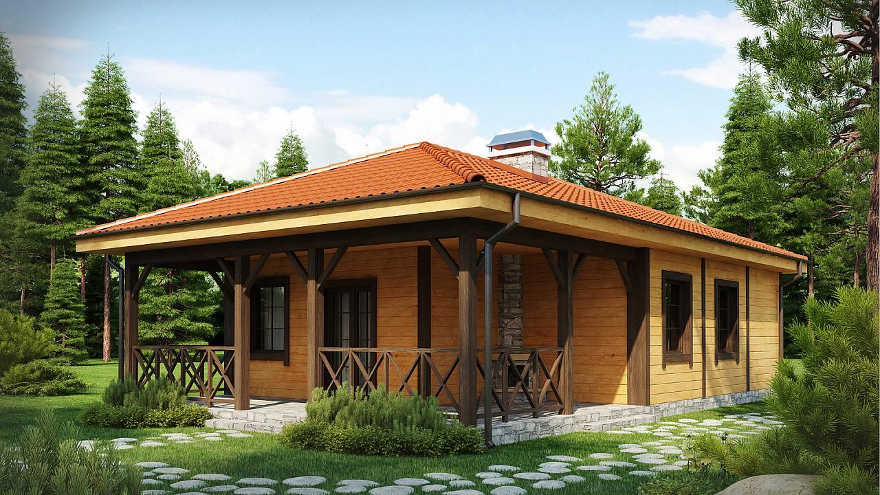 Domy mieszkalne drewniane