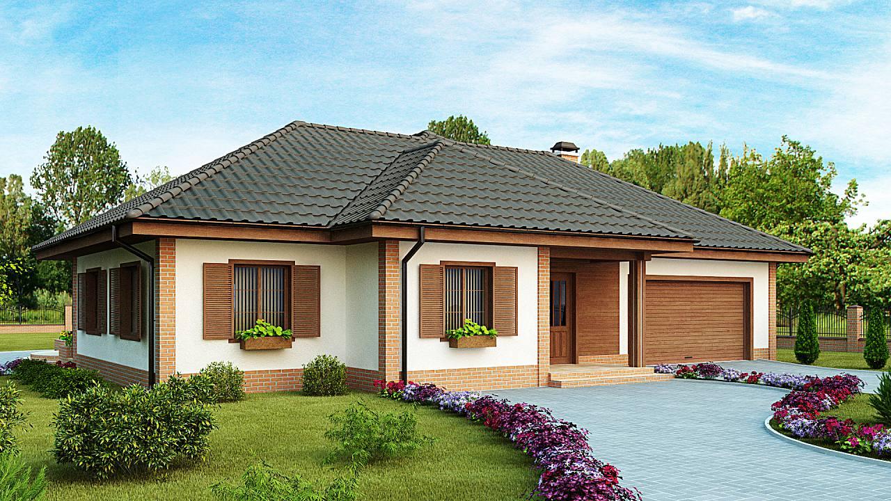Mieszkalne domy drewniane