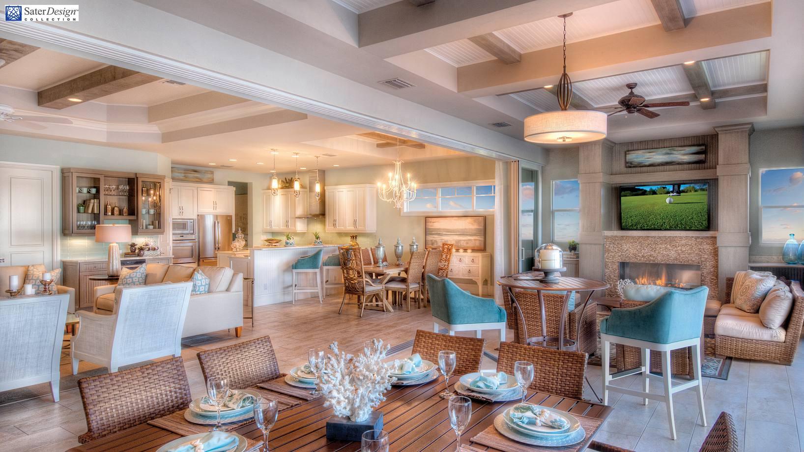 projekt domu zr6 inspirowana rejonem morza r dziemnego willa z gara em dla 3 4 samochod w. Black Bedroom Furniture Sets. Home Design Ideas